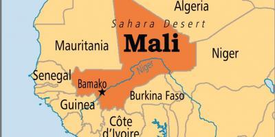 Malin Kartta Kartat Malin Lansi Afrikka Afrikka